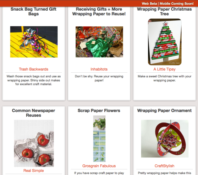 Click Through For Gift Wrapping Ideas and Reuses at Trash Backwards
