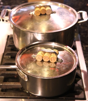 Wine Cork Pot Grippers