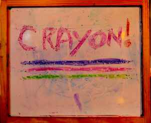 Use Crayon on Dry Erase Boards