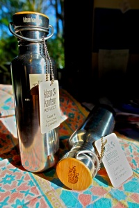 Klean Kanteen BPA-Free Water Bottles with custom The North Face Logo