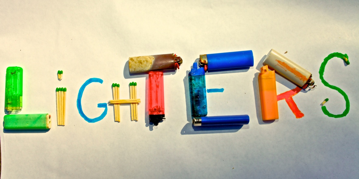 Lighters Recovered from Puget Sound Beaches