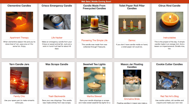 Click Through For More Easy Candle-Making Ideas