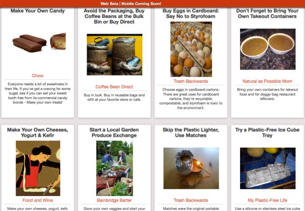 Click Through for Hundreds of Green Kitchen Tips at Trash Backwards
