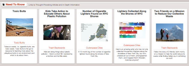 Click Through for More In-Depth Information about Plastic Lighters and the Environment at Trash Backwards