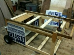 Campaign Sign Chicken Coop Under Construction, photo by Scott James