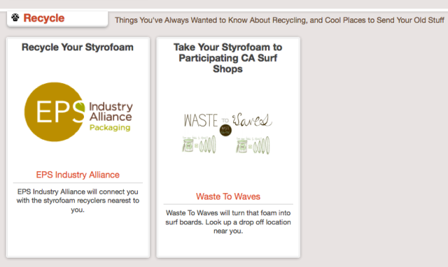Click Through For Styrofoam Reduce, Reuse, and Recycling Ideas at Trash Backwards