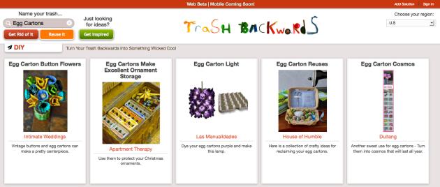 Click Through For Egg Carton Reuses at Trash Backwards