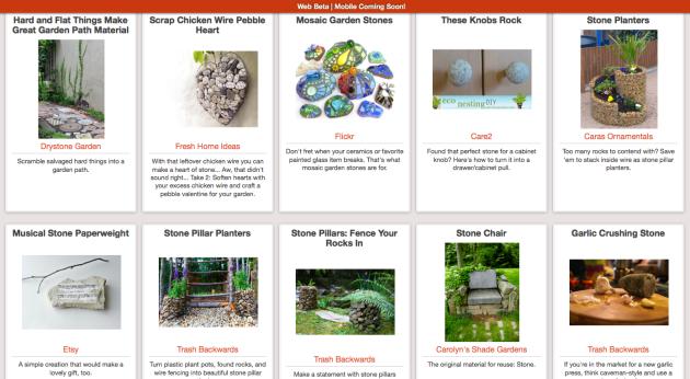 Click Through For Rock Reuse Ideas at Trash Backwards
