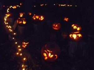 Pumpkin Walk photo © Rebecca Rockefeller