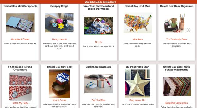 Cereal box reuses at Trash Backwards' app! Click through to see.