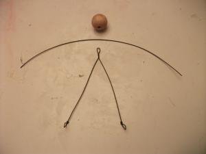 Head Bead, Arm Wire, and Torso/Leg Wire