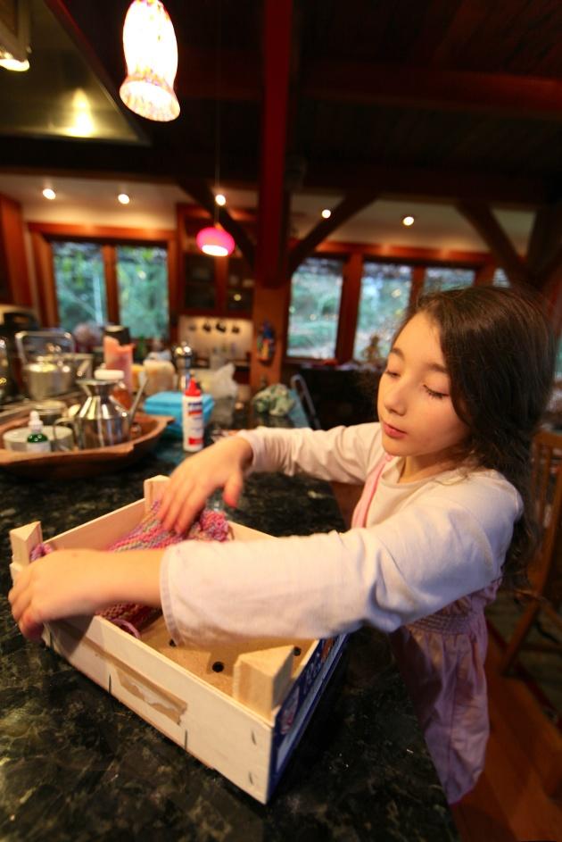 "Inserting the ""Mattress"" Photo © Liesl Clark"