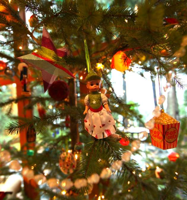 Doll Ornaments Help Your Well-Loved Dolls Live Forever. Photo © Liesl Clark
