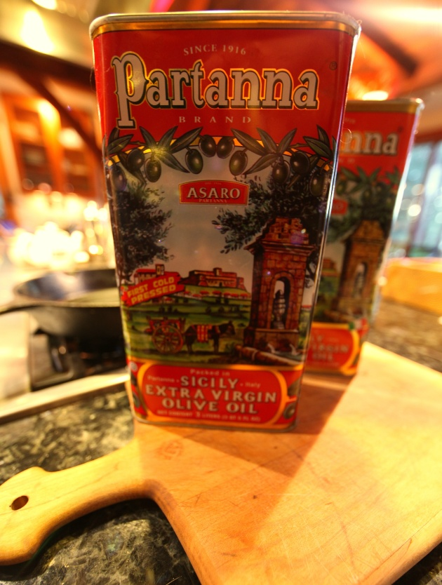2 Lovely Olive Oil Tins, What To Do? Photo © Liesl Clark