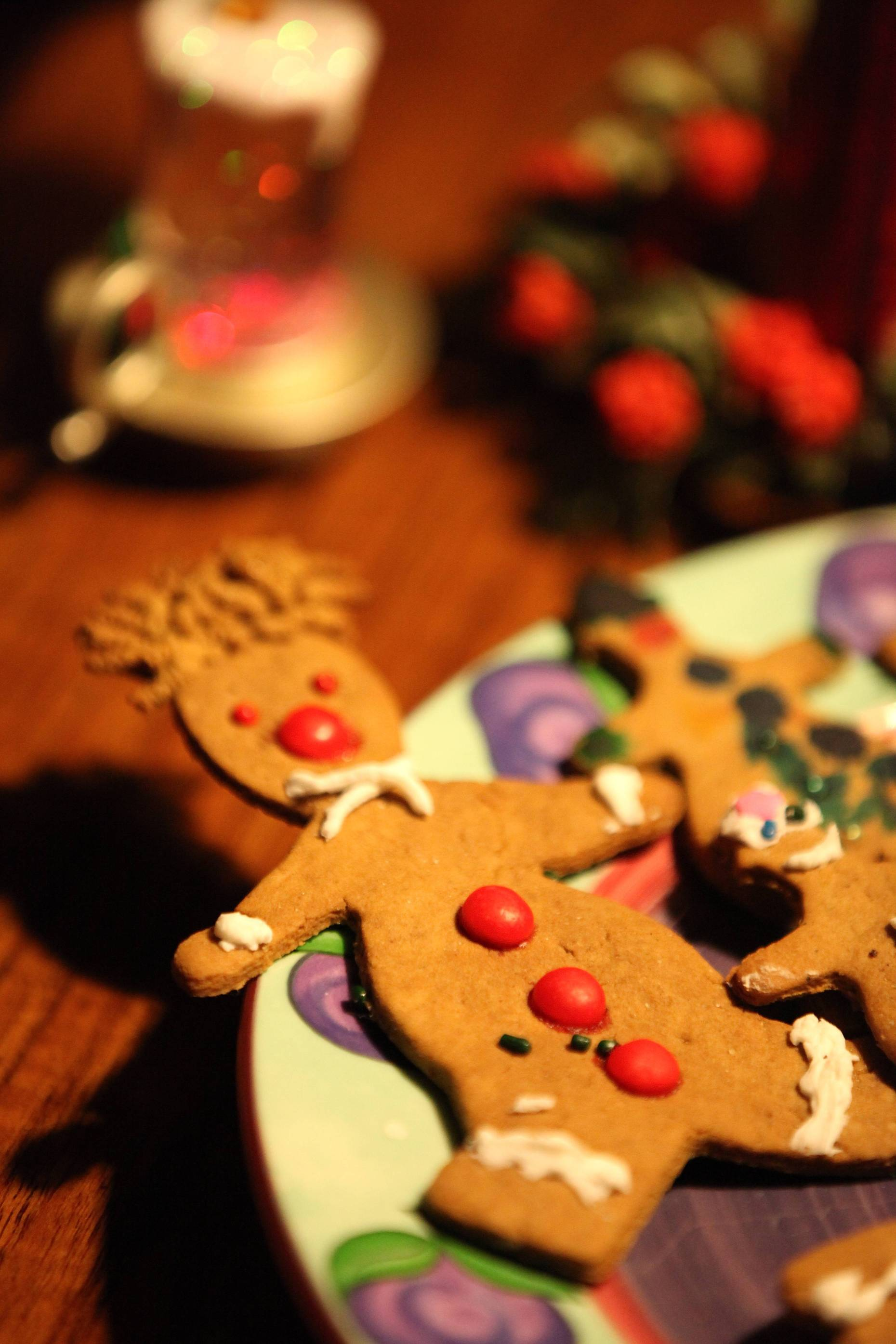 Gingerbread Man with Hair, Photo © Liesl Clark