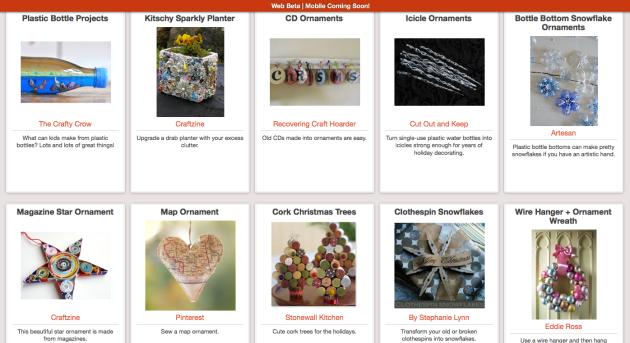 Click Through for Trash to Treasure Ornaments at Trash Backwards
