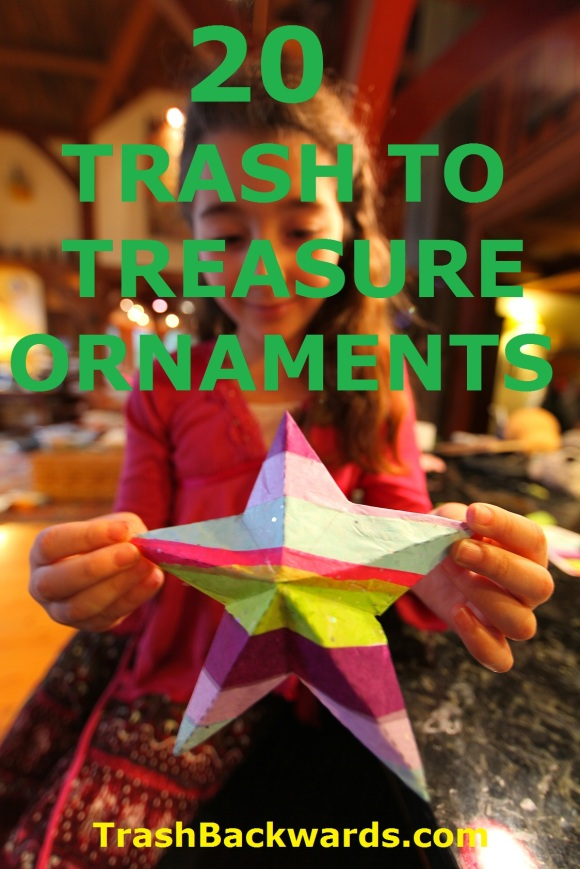 Click Through For Trash Backwards Trash to Treasure Ornament Roundup in our app!