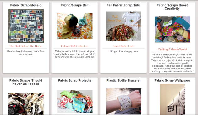 Reuse Your Fabric Scraps with Help from the Trash Backwards Web App