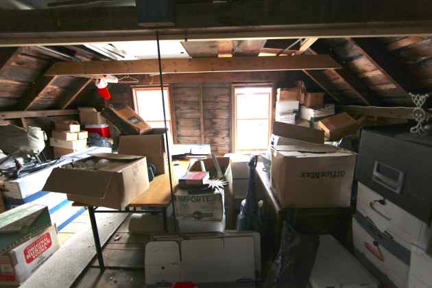 Stockpiled Boxes in the Attic: Emptying Them Out One Per Week is Do-able.
