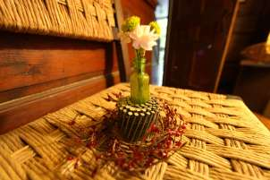 Roll of Nails Flower Vase Arrangement, Photo © Liesl Clark