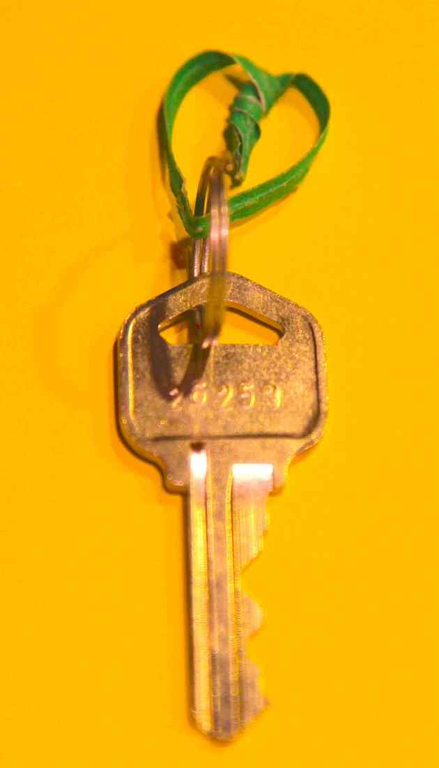 Key Ring Heart. Photo © Liesl Clark
