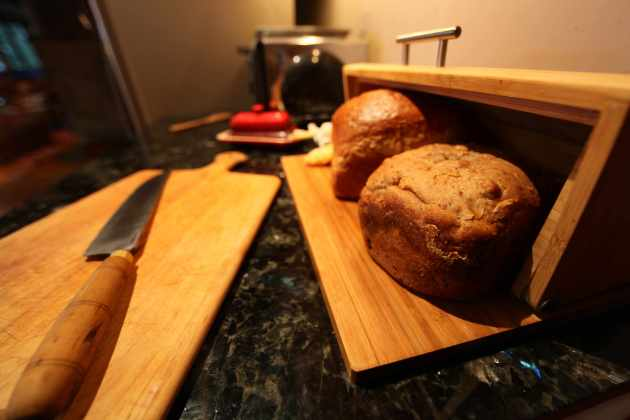 Plastic-Free Bread Storage is Better For Your Bread and Your Body. Photo © Liesl Clark
