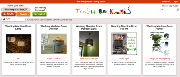 Click Through For Reduce, Reuse, Recycle Ideas for Your Washing Machine