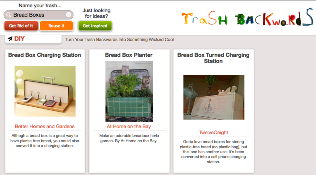 Click Through For Bread Box Reuses at Trash Backwards