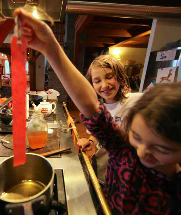 Don't let the drips get all over the kitchen! Photo © Liesl Clark
