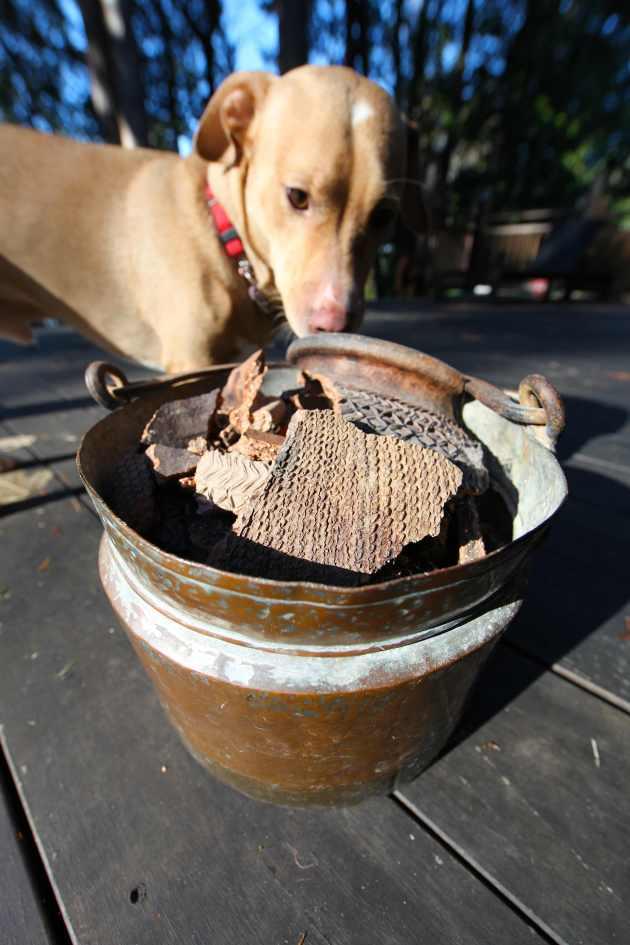 The Burmese Pot Turned Potshards. Photo © Liesl Clark