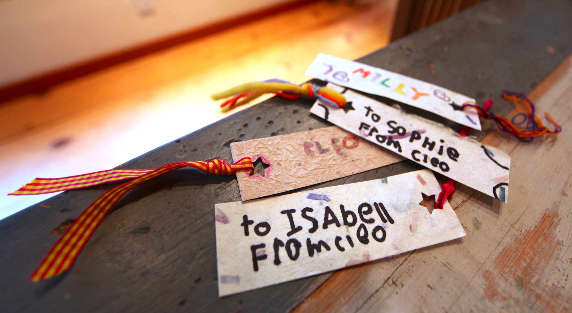 Bookmark Valentines are Useful. Photo © Liesl Clark