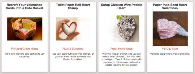 Click Through for Upcycled Valentines Day Inspirations at Trash Backwards.