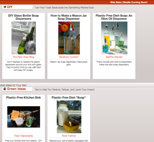 Click Through for Dish Soap Recipes and DIY Dispensers at Trash Backwards