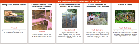 Click Through for Chicken Coop Ideas from Salvaged Materials at Trash Backwards
