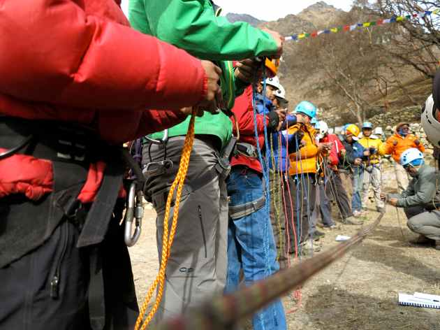 The Khumbu Climbing Centre Could Use Your Climbing Gear That's Still in Good Shape. Photo © Ted Hesser