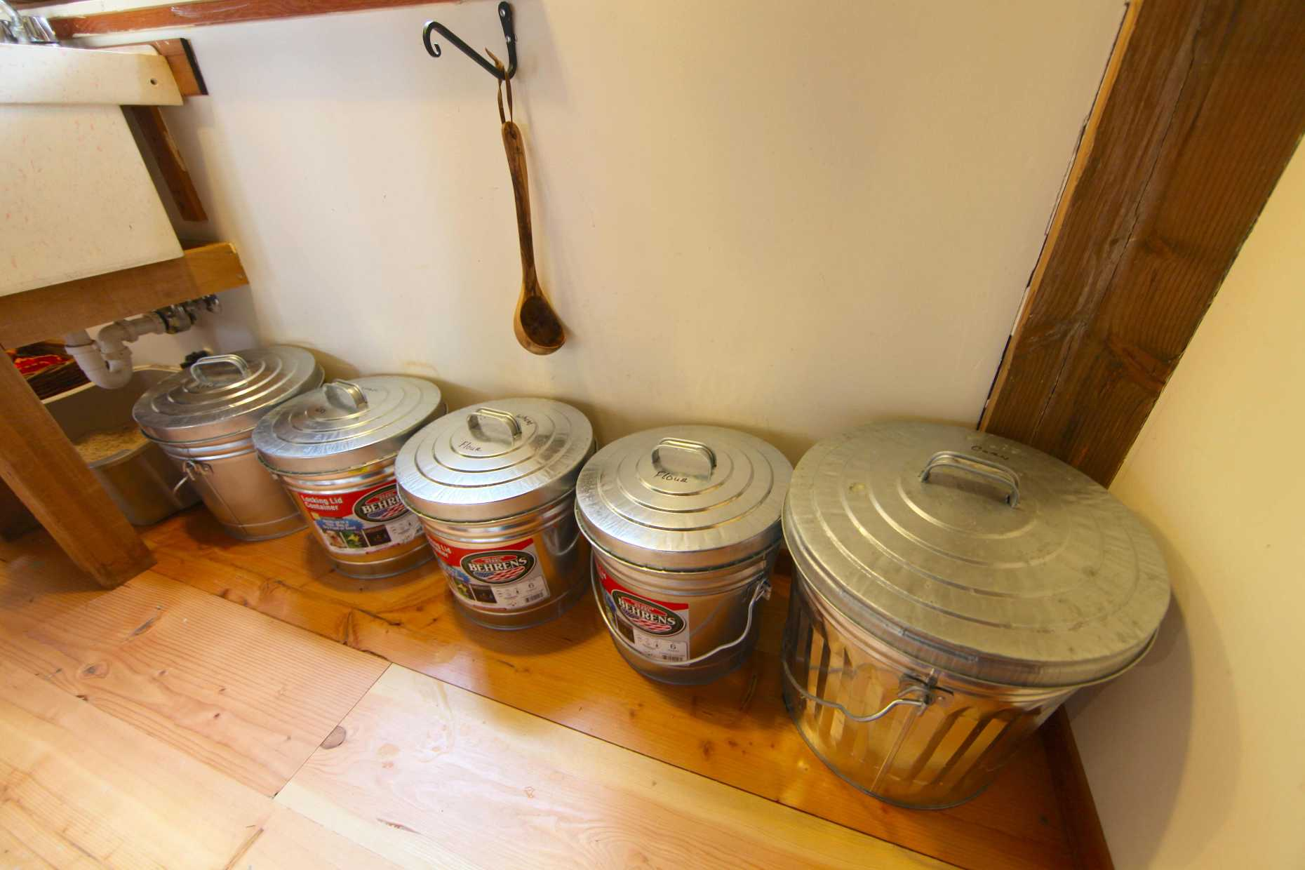 Bulk-Style Food Storage. Photo © Liesl Clark