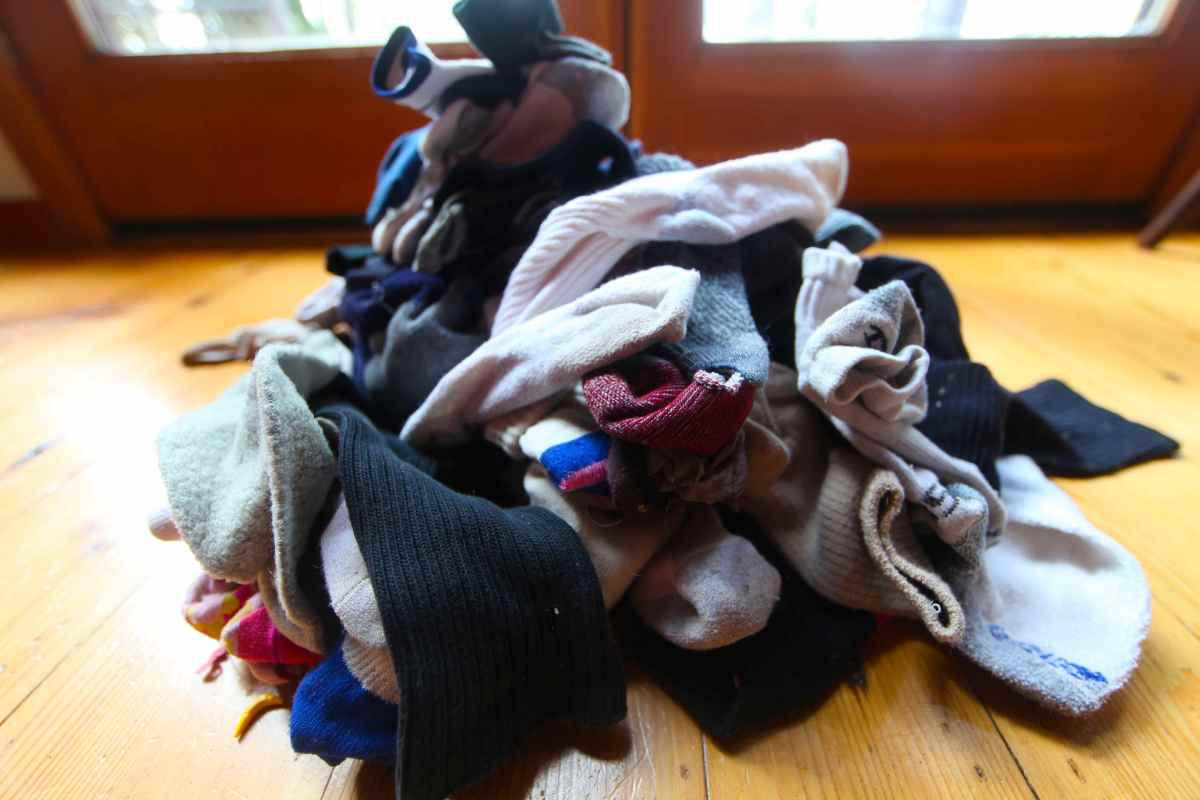 Sock Sorting Day Trash Backwards Blog
