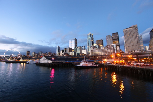 Delivered by ferry to the Seattle waterfront. Photo © Liesl Clark