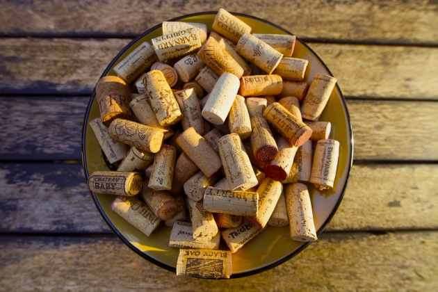 25 Reuses For Natural Wine Corks. Photo © Liesl Clark