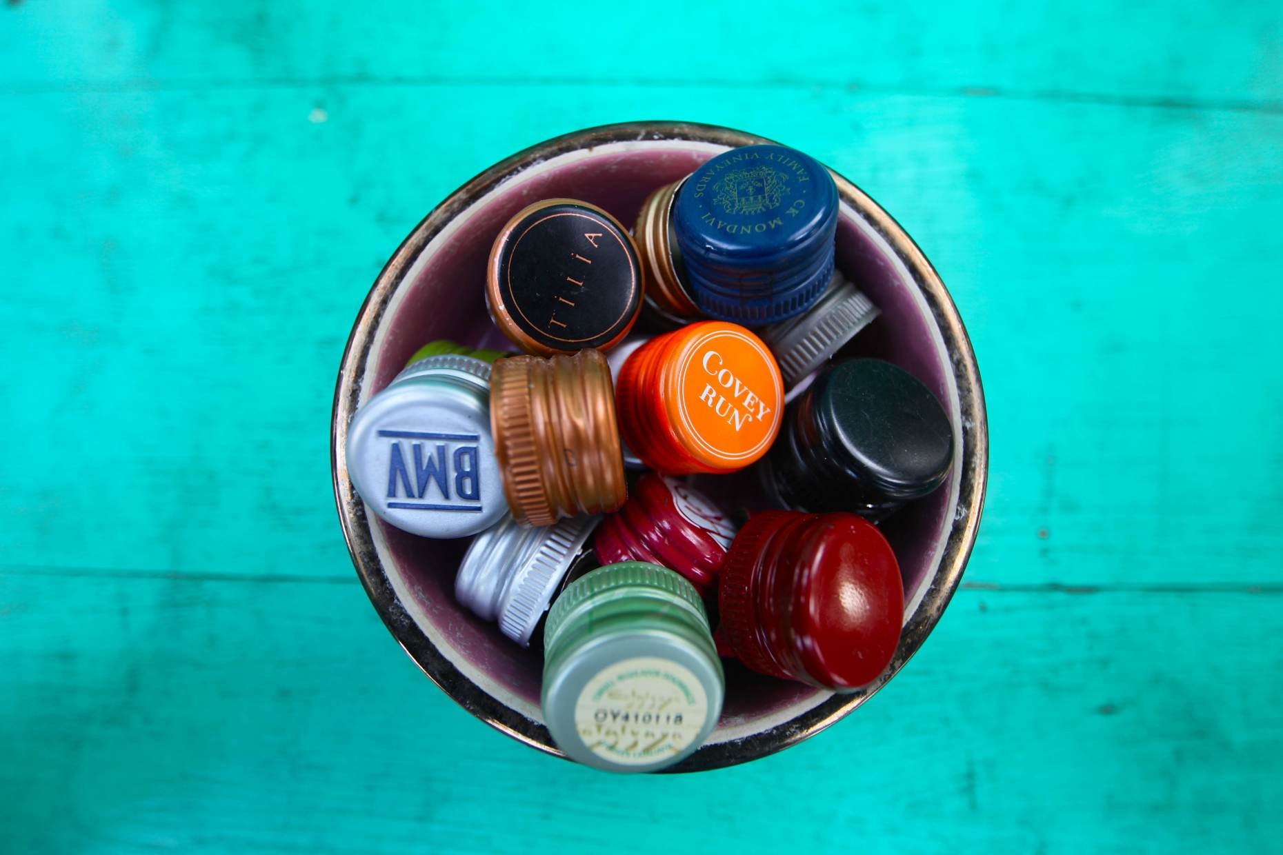What Do We Do With Our Metal Screw Top Caps? Photo © Liesl Clark