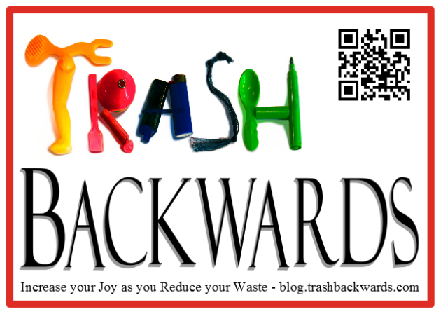 People Can Scan the QR Code and Link to Trash Backwards