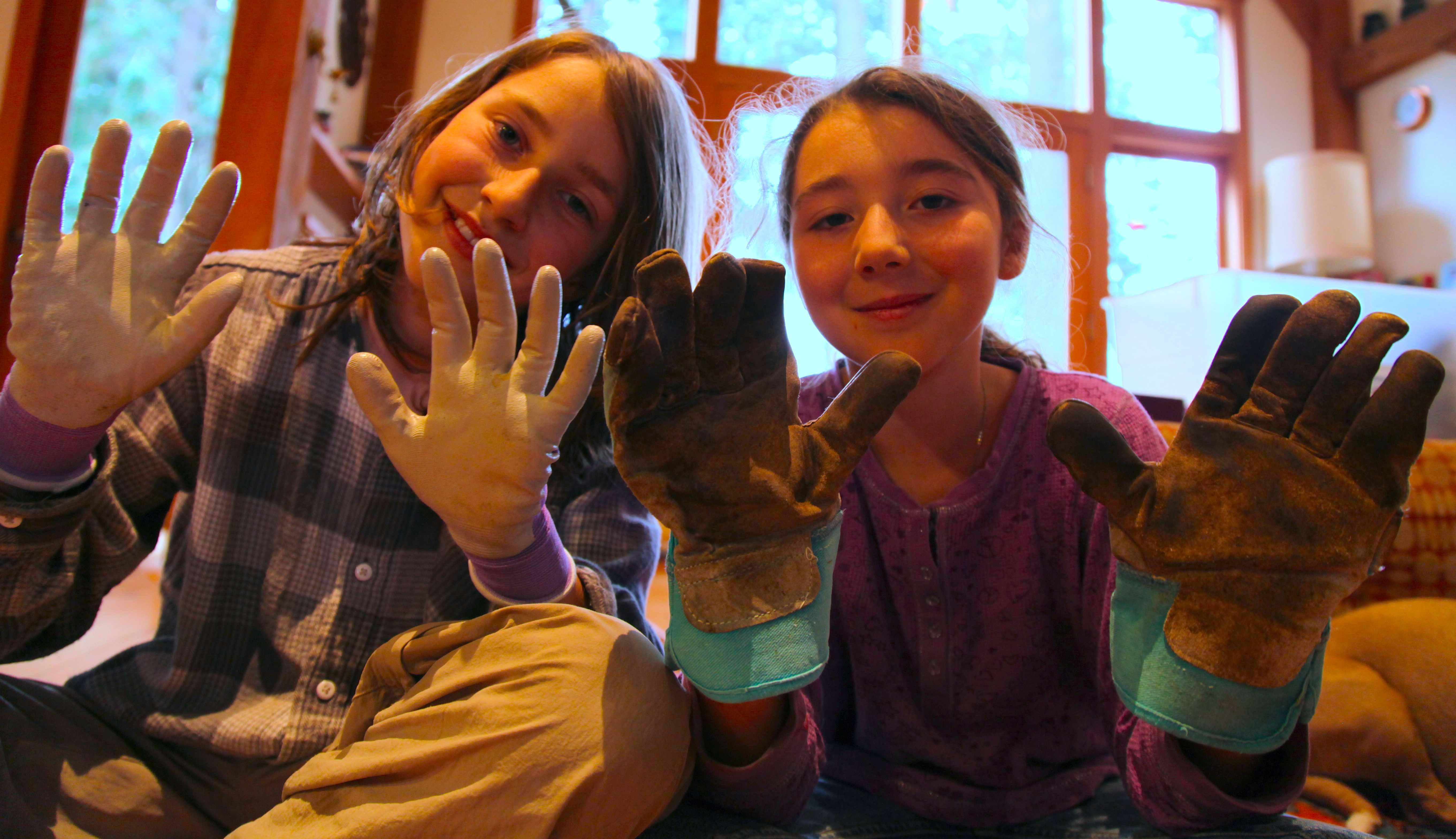Garden Glove Love | Trash Backwards Blog