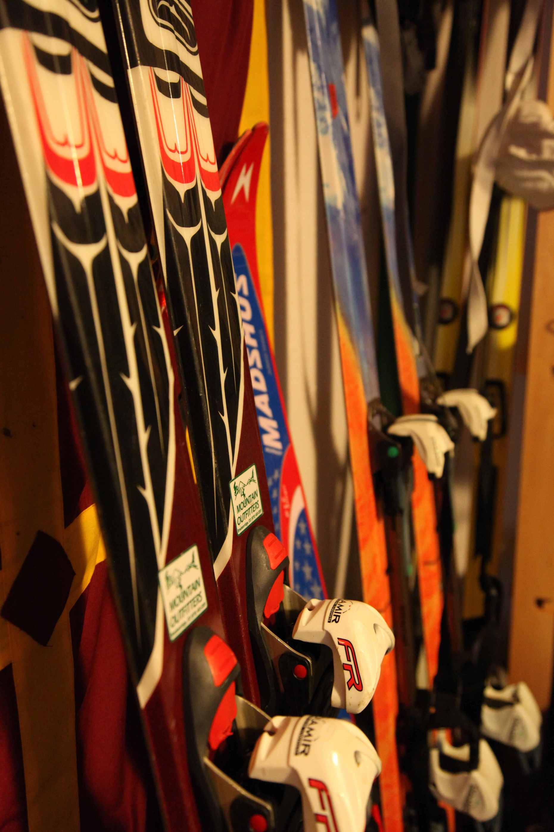 Ski Equipment Doesn't Have to Go to the Landfill. Photo © Liesl Clark