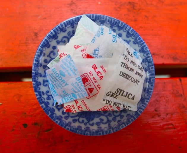 The Many Uses of Silica Gel. Photo © Liesl Clark