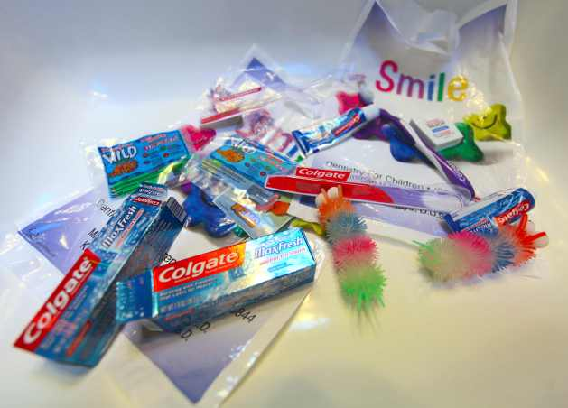 Our Trip To The Dentist and the Plastics Therein. Photo © Liesl Clark
