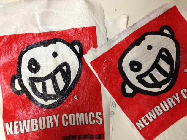 Finished Product-Newbury Comics Coasters © Kolika Chatterjee