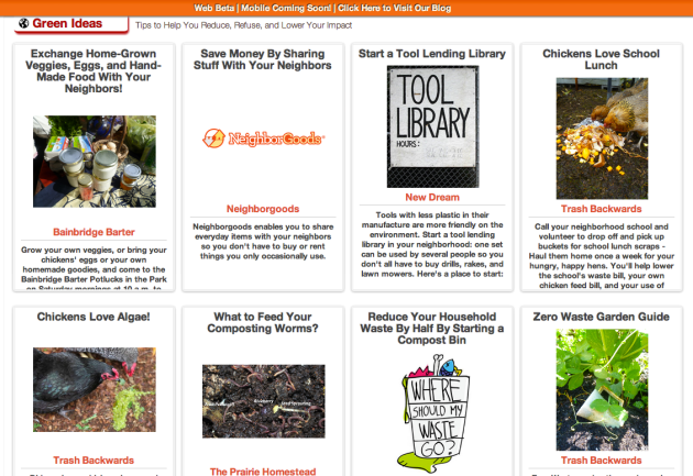 Click Through for Green Ideas for the Farm and Garden at Trash Backwards