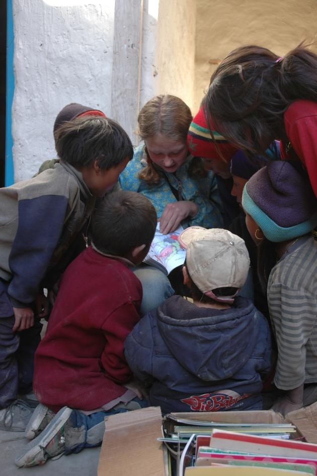Help Bring Literacy to Nepal. Photo © Liesl Clark