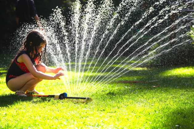 Think Twice About Your Garden Hoses And How Toxic They Might Be. Photo © Liesl Clark