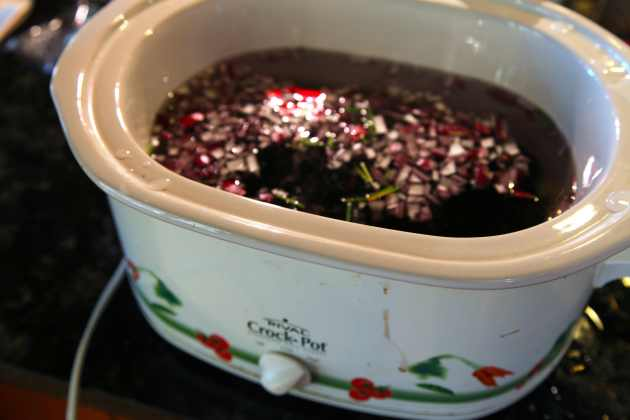 Crock Pot Beans. Photo © Liesl Clark